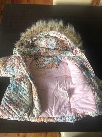 kurtka zimowa dziewczęca firmy wójcik