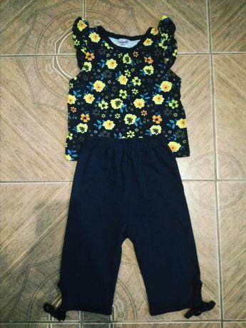 Костюм, набор, футболка, лосины 86-92