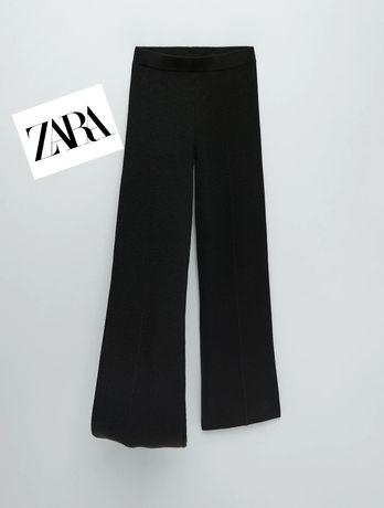 ZARA DZIANINOWE roz.S spodnie typu CULOTTE Limited Edition!