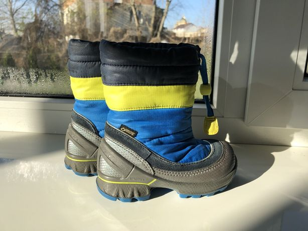 Ecco biom чоботи зимові дитячі 23 р.