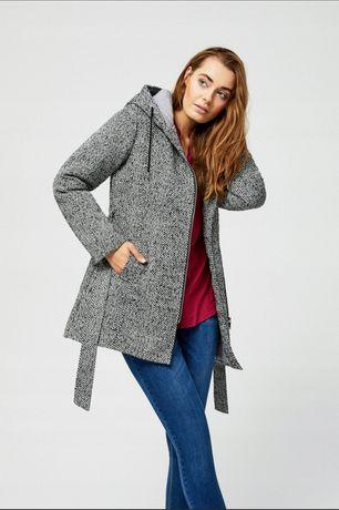 Płaszczyk Modoo grey/melange
