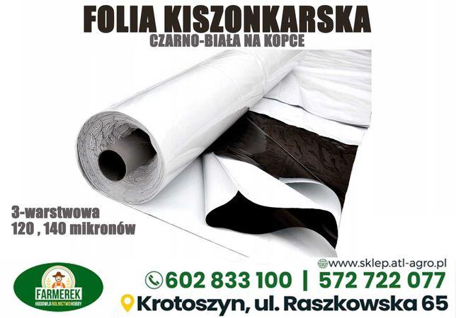 Folia kiszonkarska czarno-biała 6,8,10,12,14,16,18
