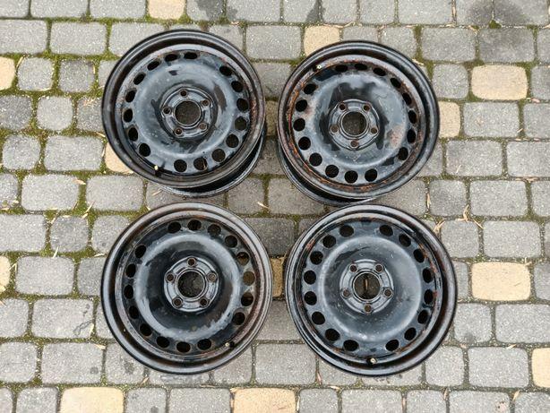 "Saab 9-3 9-5 Opel felgi stalowe 15"" 5x110 ET41 kołpaki 15"""