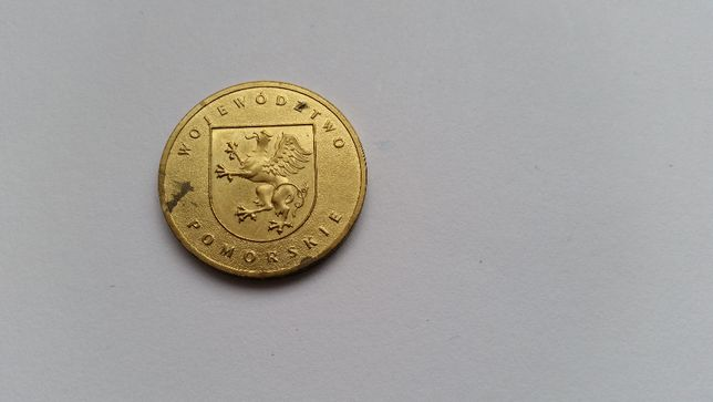 Polska 2 złote, 2004 rok - Województwo pomorskie