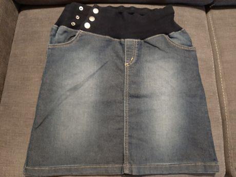Dżinsowa spódnica ciążowa Happy Mum rozmiar M
