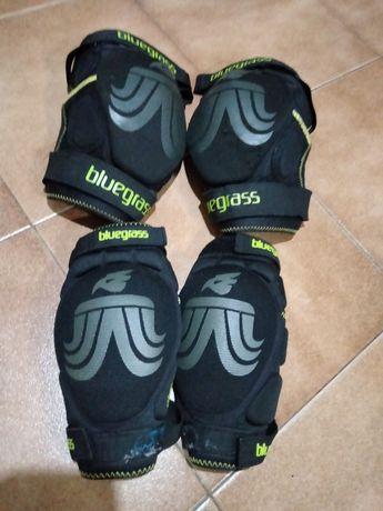Proteção joelhos e cotovelos