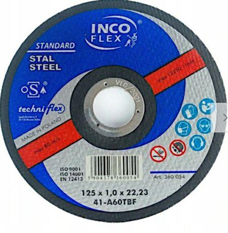 Tarcza, tarcze do metalu inco flex 125