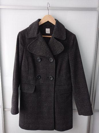 Płaszcz 60% wełna rozm. 36 firmy Camaieu