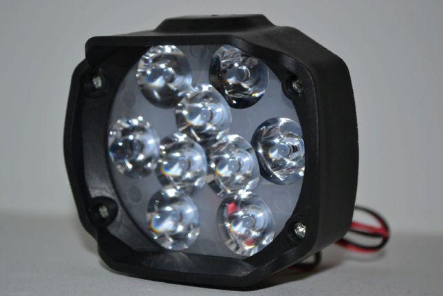 Дополнительная светодиодная LED фара 9-12V15W