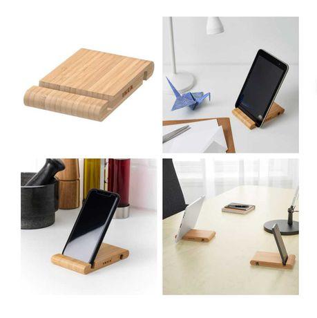 Подставка для смартфона, держатель телефона, планшета IKEA бамбук