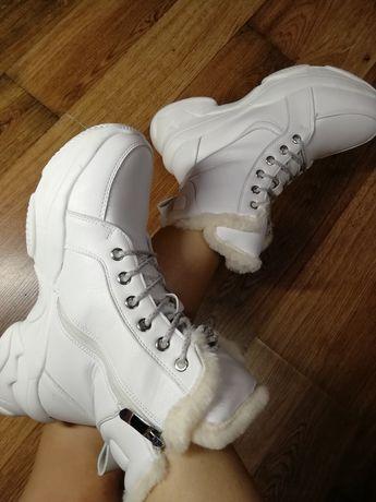 Зимние кроссовки р 37, ботинки, сапоги