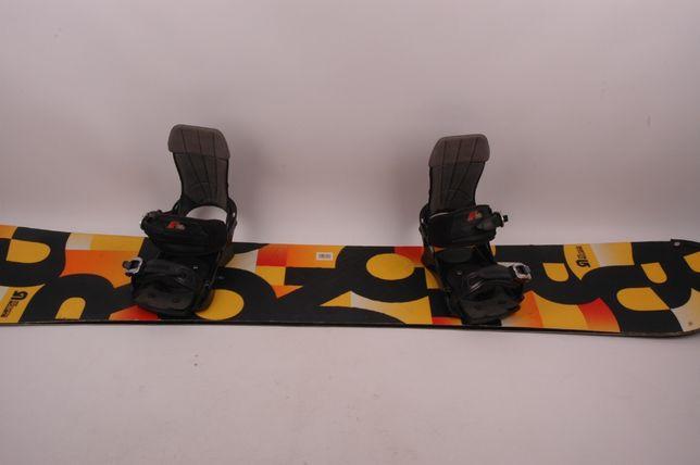 Burton Progression 163 wide + wiązania F2 - deska snowboardowa