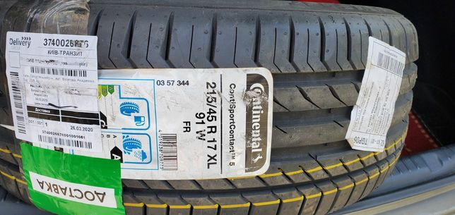 Continental ContiSportContact 5215/45 R1791W