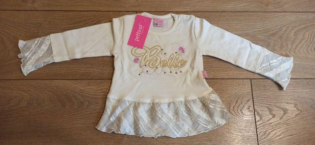 Bluzeczka dziewczęca Pettino r. 128