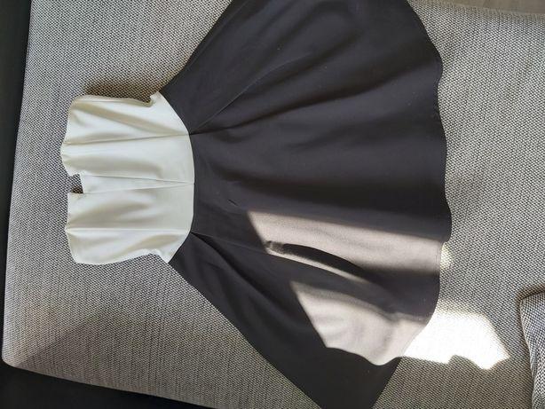Sukienka bez ramiączek Sinsay