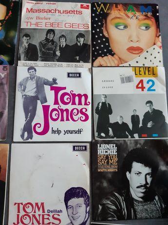 Discos singles em vinil