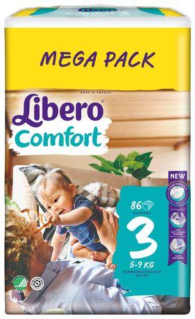 Подгузники Libero Comfort 3 (86)