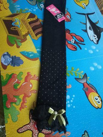Красивые лосины с кружевом для девочки 3-4 года