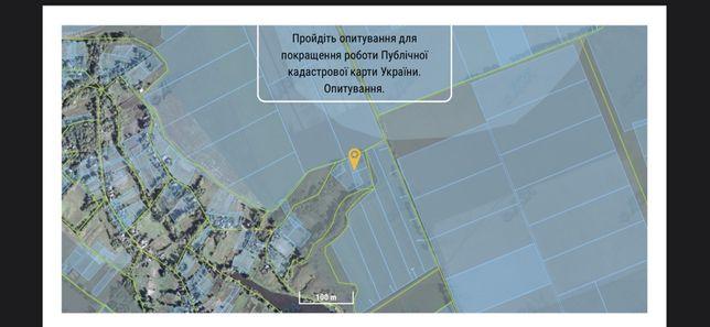 Продам земельный участок, Яблунивка