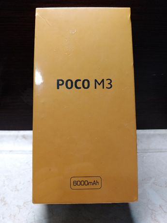 Xiaomi POCO M3 4/64 Aparat 48MP, 6000mAh, And10, Nowy w folii