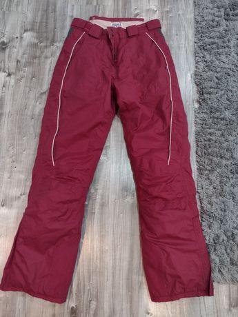 Spodnie narciarskie 34/36. Bardzo cieple
