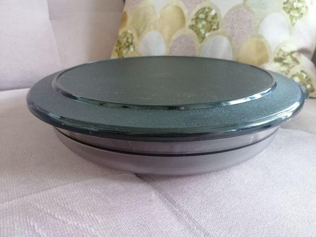 Pojemnik perła stołowa czarna 2 l z kolekcji Tupperware - NOWA z wadą