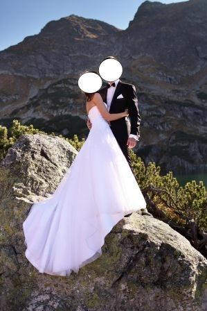 Śliczna Suknia Ślubna - SINCERITY 3906