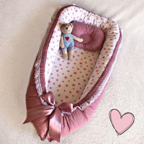 Кокон для новорожденных + ПОДАРОК
