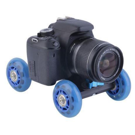 Carrinho Estabilizador para Cameras-Nikon-Gopro - Novo - Portes Gratis