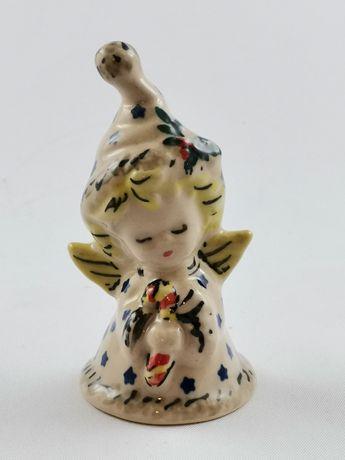 zawieszka/bombka na choinkę Ceramika Bolesłąwiecka