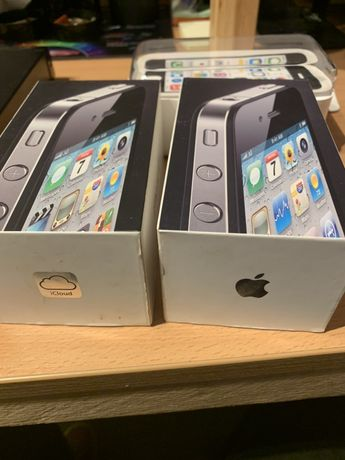 Pudełka po iPhone 4 i 5c