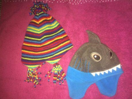 шапки (Акула-george, полосата-polartec)