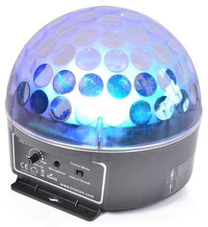 OUTLET Magic Jelly DJ Ball LED Prezent na Mikołaja