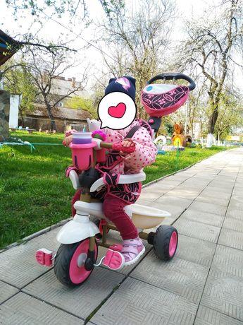 Велосипед коляска толокатор Smart Trike / Триколісний велосипед