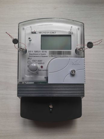 Счетчик лічильник Nik 2102-01.E2MCT многотарифный двухзонный день ночь