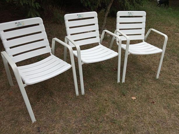 Krzesła ogrodowe tarasowe firmy Acamp Austria komplet 6 sztuk