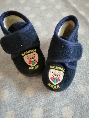 Детские тапочки с медвежонком