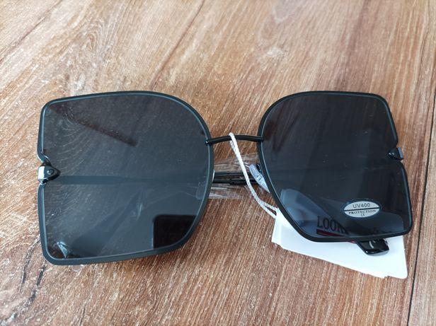 Okulary przeciwsłoneczne UV 400 czarne