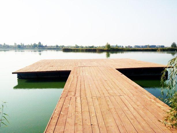 Без комиссионных. Рыболовная – база отдыха с озером пригороде Киева