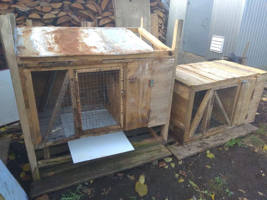 Клітка двох'ярусна для кролів Ковель - изображение 1