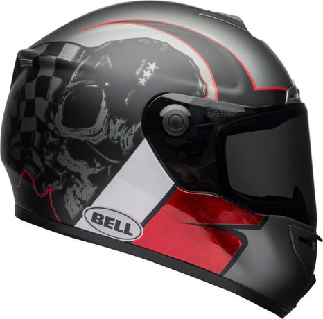 Kask BELL SRT Hart Luck Charcoal/White/Red Oryginal U.S.A roz.M