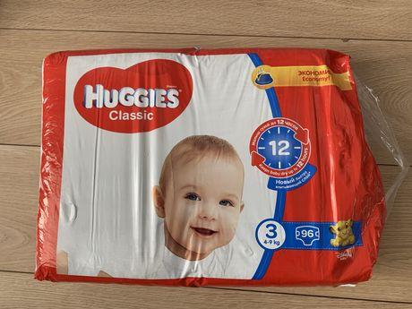 Подгузники Huggies Classic Giga 3 на 4-9кг