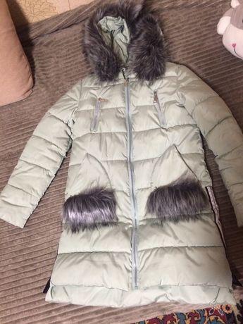 Продам теплющий зимний пуховик