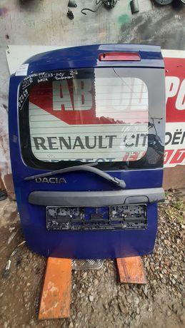Дверь двері задняя левая Renault Logan Dacia 6001548841 02768