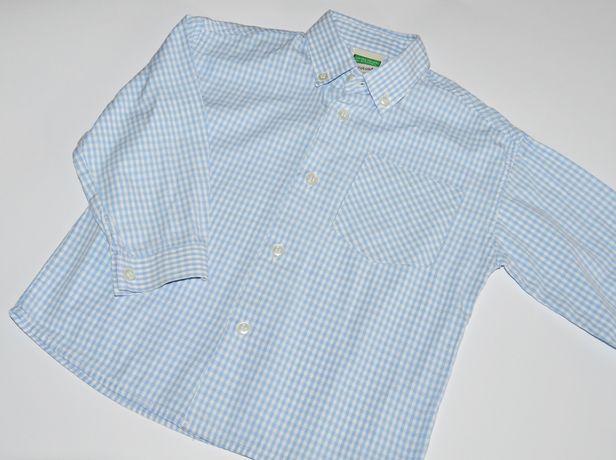 Koszula w kratkę Benetton 82