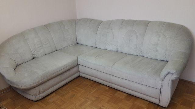 kanapa narożna z funkcją spania