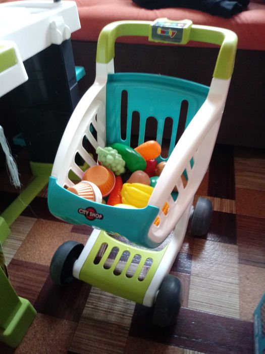 Sklep supermarket SMOBY z koszykiem Zabrze - image 1