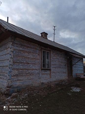 Dom z bali do rozbiórki