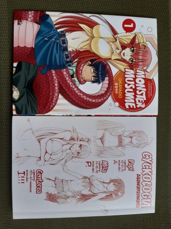 "Książka manga ""monster musume"""