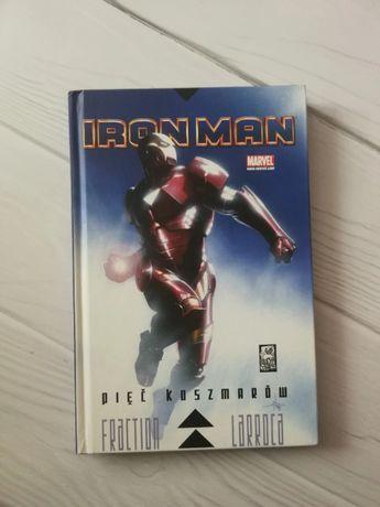 Iron Man Pięć Koszmarów Komiks Mucha